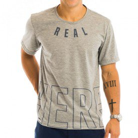Camiseta Masculina Here Estampa Frontal - Area Verde