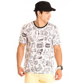 Camiseta Masculina Sound Total Sublimada - Area Verde