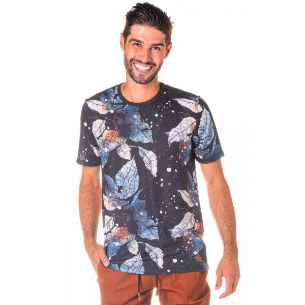 Camiseta Masculina The Night Total Sublimada - Area Verde