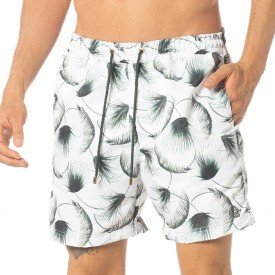 Short Masculino Estampado Palm - Area Verde